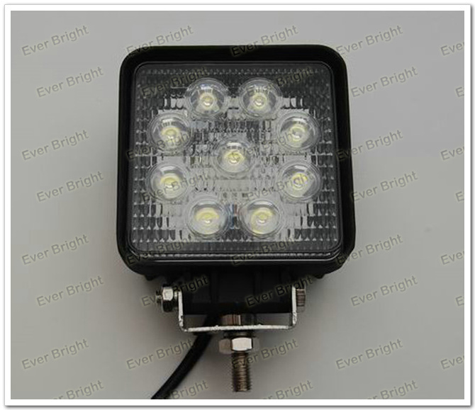 Wholesale 12V / 24V Water Proof 27W led work light for SUV, Jeep ...