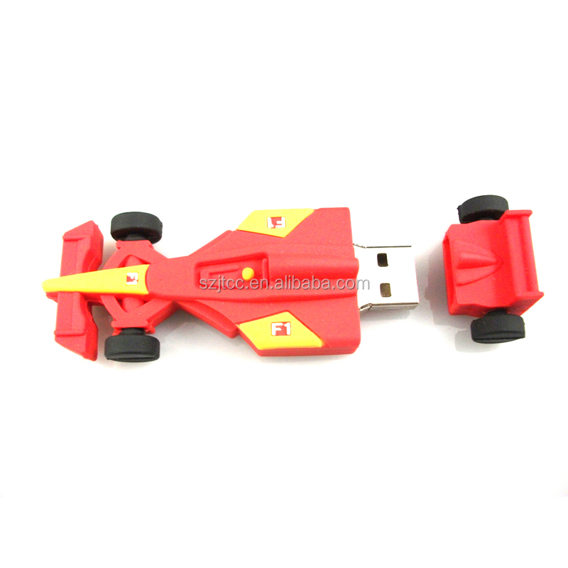 Car Shape USB 2GB Custom F1 Car USB Paypal Car Shape USB Memory