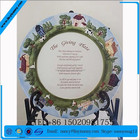 DELIGHTFUL Ceramic Country Decorative Collectable The Giving Plate