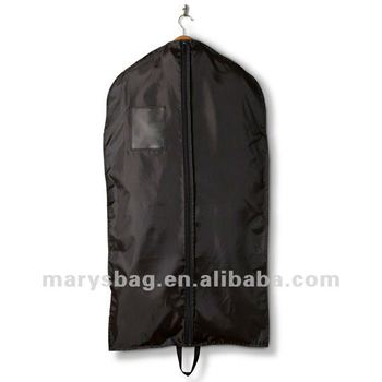 210D Nylon Garment Bag with Full Length Zipper and Double Handles