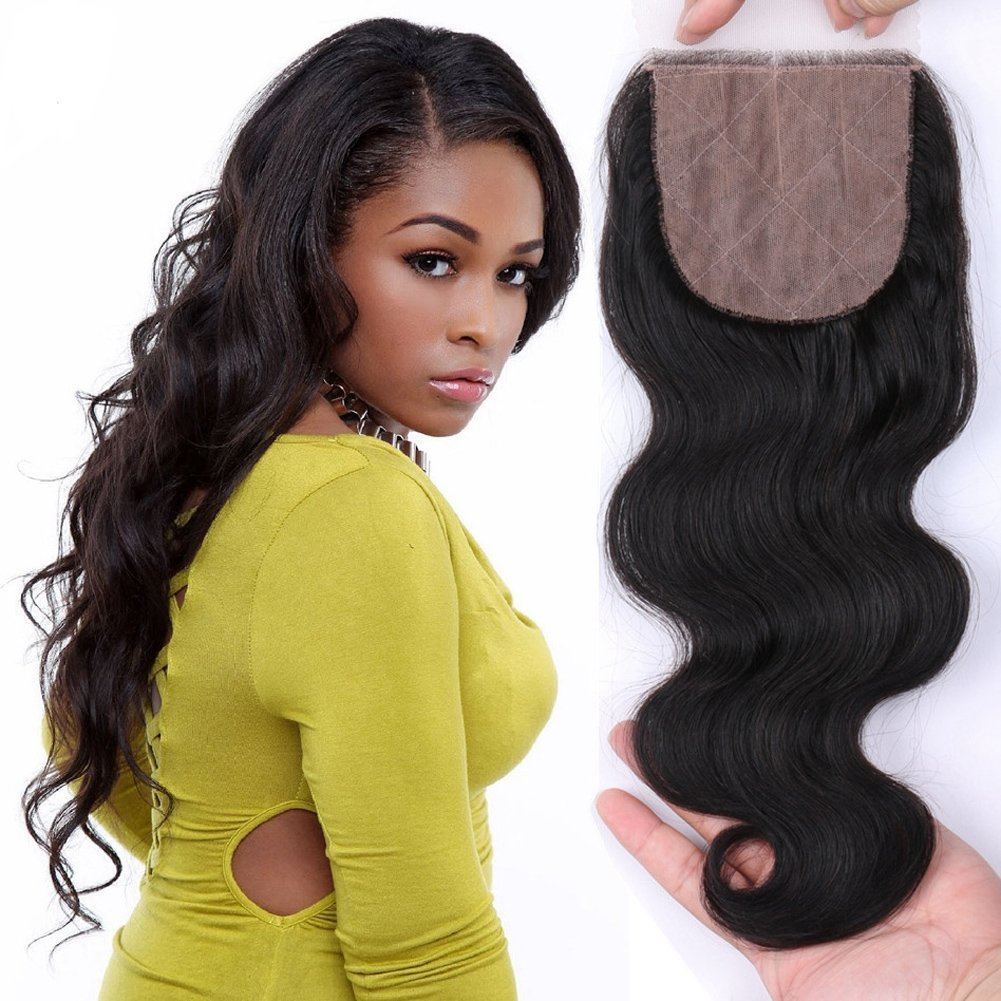 Cheap hair color base chart find hair color base chart deals on get quotations am youth body wave silk base top closure bleached knots free part 4x4 brazilian virgin nvjuhfo Image collections