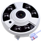"Ceiling Mount 2Mega Pixel Sony 1/2"" CCD Sensor HD 1080P 360 Degree Fisheye IP Camera with 3PCS Array LEDs for 20M Night Vision"