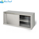 Stainless steel knocked down wall mount storage cabinet for kitchen