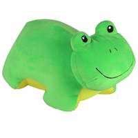 high quality baby bed seat frog cushion