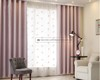 Hot Sale Look Like Blackout Embroidered Sheer Voile Curtain Fabric