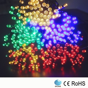 Solar 100 Bulbs 10 Meters Decoration Rice Lights Led Christmas ...