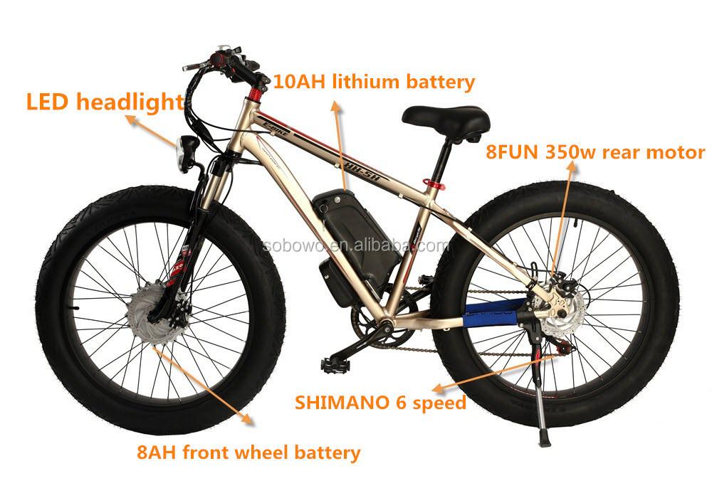 Fat Tire Beach Chinese Electric Bike