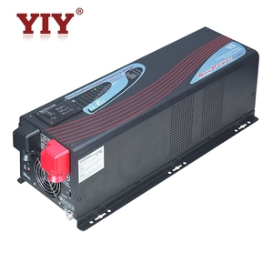 YIY Dc to AC t 24v to 220v Dual output off grid inverter pure sine wave solar inverter with battery charger