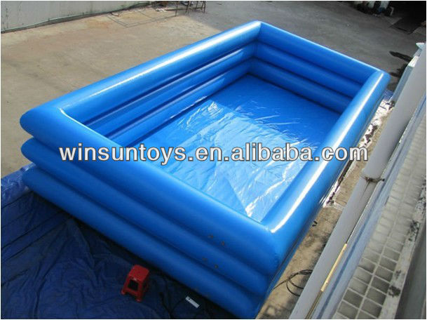 New TOP Selling Durable HOT 3 Ring Inflatable Swimming Pool