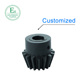 OEM&ODM injection plastic gear POM bevel pinion gear manufacturer