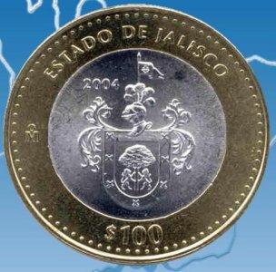 Mexican 100 Coin