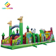 commercial PVC 5k inflatable obstacle course game for adults
