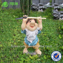 Fulin Brand Garden Gnome Polyresin Craft