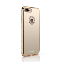 Top Selling Trend Phone Accessories Best Phone Cases for Girls,Luxury Crystal TPU Mirror Case for iPhone 6s
