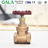 gate valve bronze,slide valve bronze (Threaded)