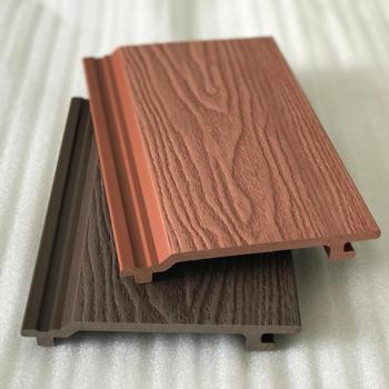 Durable Wpc Verkleidung Co Extrusions Wandpaneel Aussen Holz