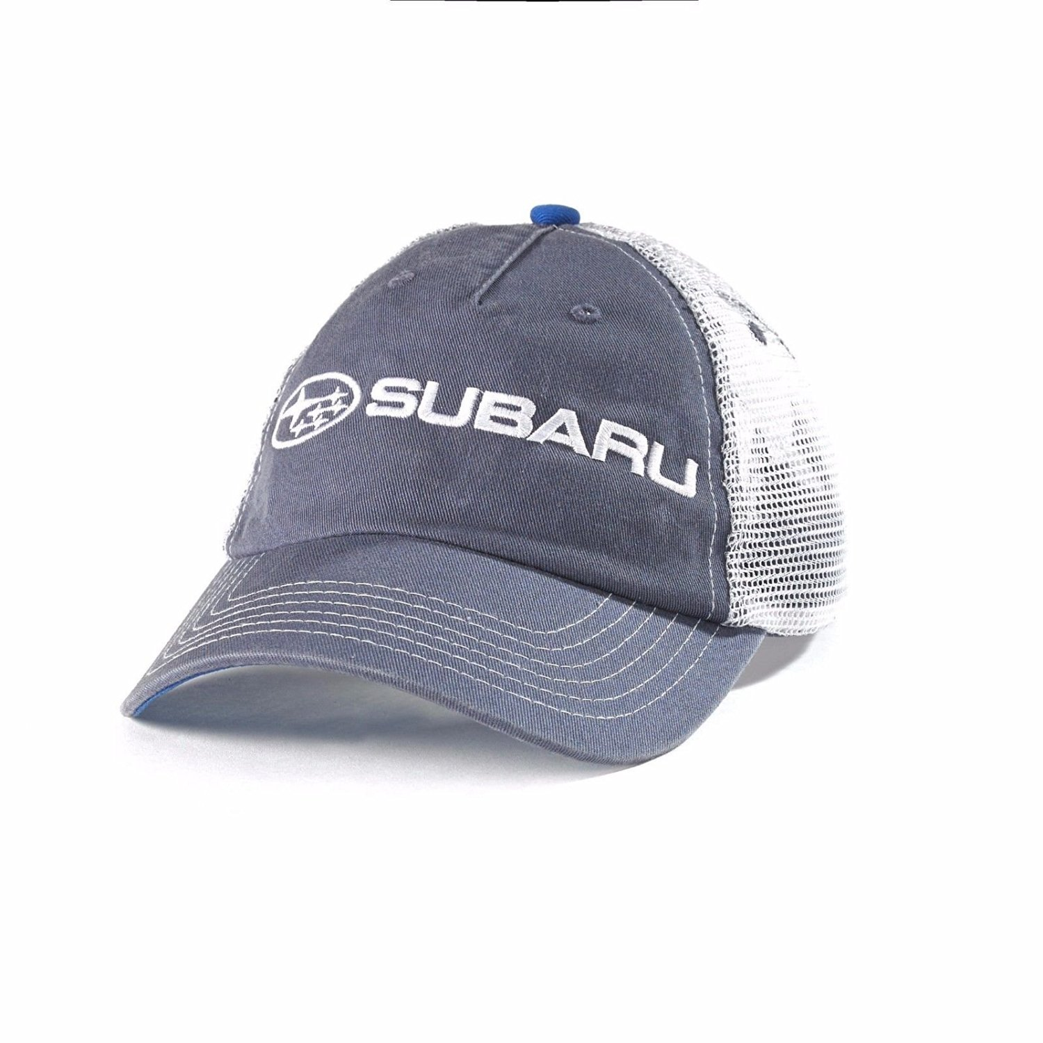 b954f18a55bc1 Get Quotations · SUBARU Mesh back Cap Hat Genuine Legacy Forester Impreza  Outback Sti Wrx New