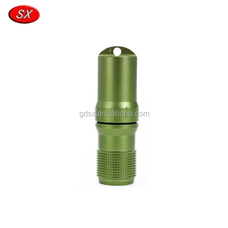 Customized Aluminum Survival Waterproof Match Case Box Container