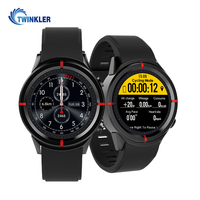 Sports Smartwatch Phone 1.3 inch MTK2503 Dual Bluetooth GPS Beidou Camera Heart Rate Sleep Monitor Smart Watch