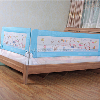 Queen Size Combination Child Bed Guard Rail