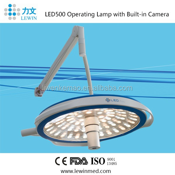 deep lighting and perfect shadowless effect ceiling mounted operation lamp LED 500