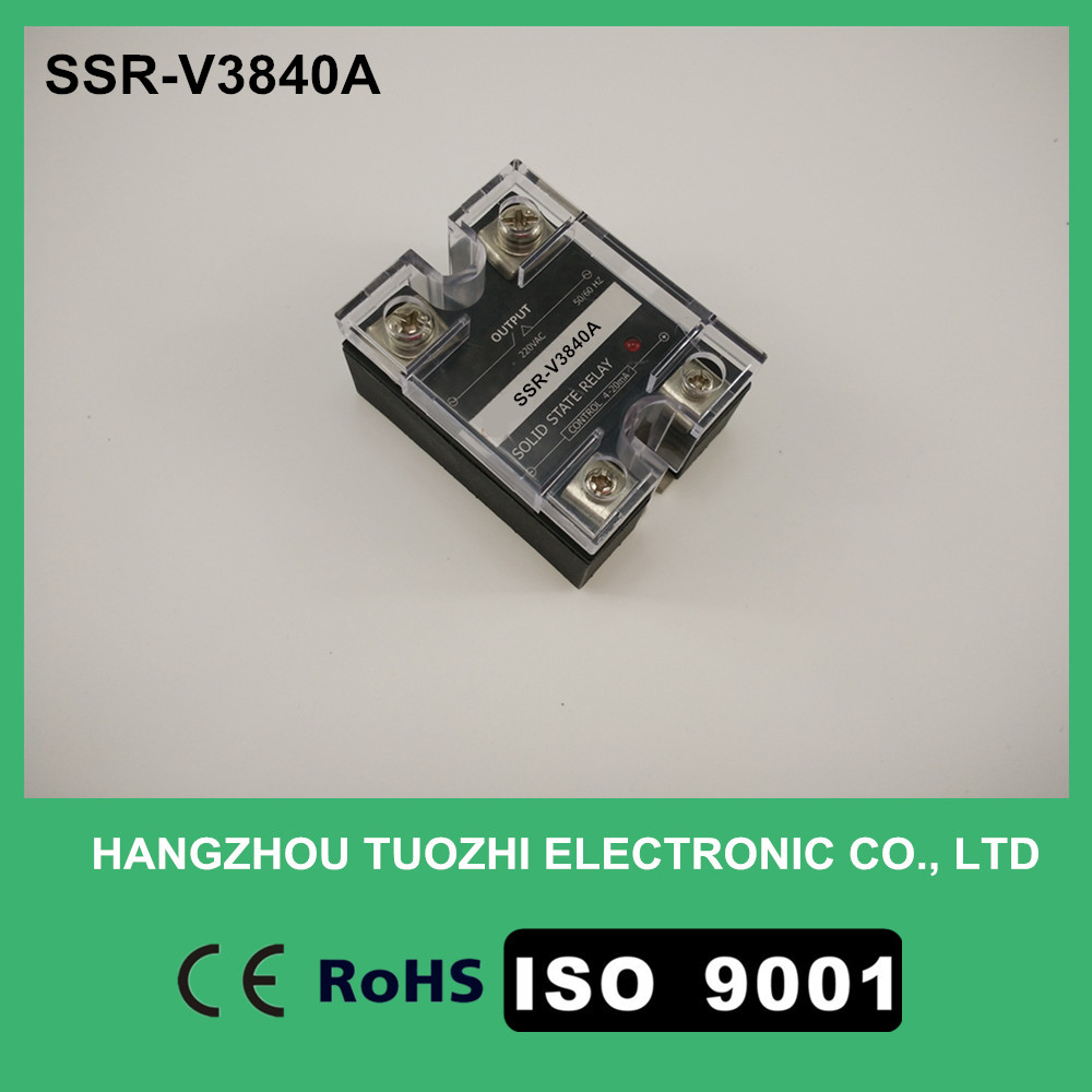 Solid State relay voltage regulator 4-20mA control 0-380VAC load current SSR-V3840A
