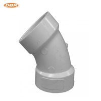 1.5 Inch Dia 45 Elbow Type PVC DWV Fittings Related To Pipe Fittings