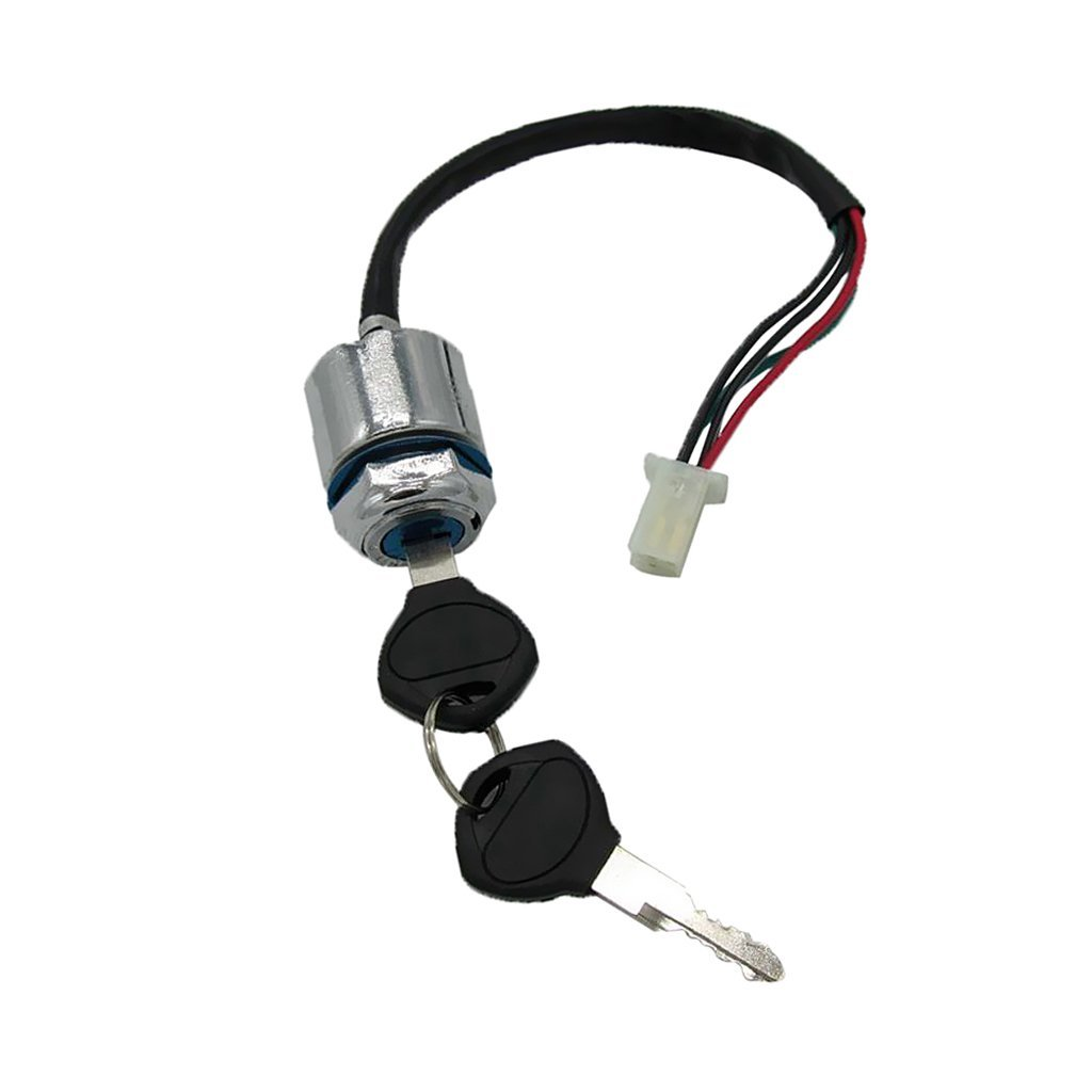 Cheap Key Switch For Atv Find Deals On Line At Tact Wiring Get Quotations Dolity New 4 Wires Pin Ignition Lock Replacement Go Kart Quad Dirt