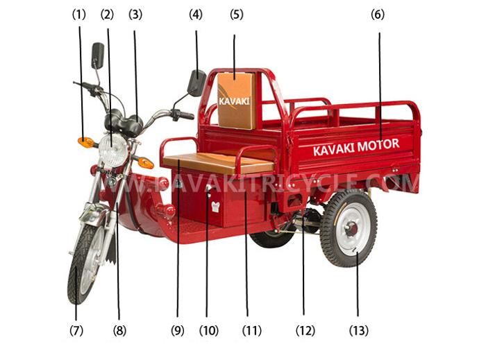 Alibaba China Supplier Cheap Prices Three Wheel Cargo Electric ...