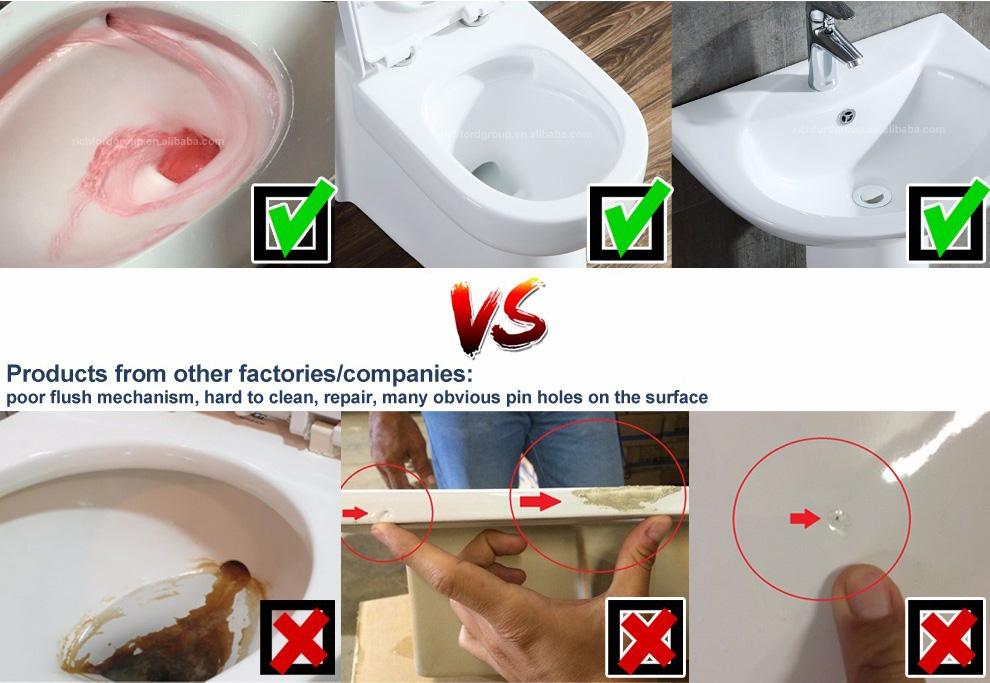 Bathroom Ceramic Public Chinese Siphonic One-Piece jet flush toilets