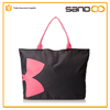China factory popular reusable tote bag, women's polyester fashion hand bag