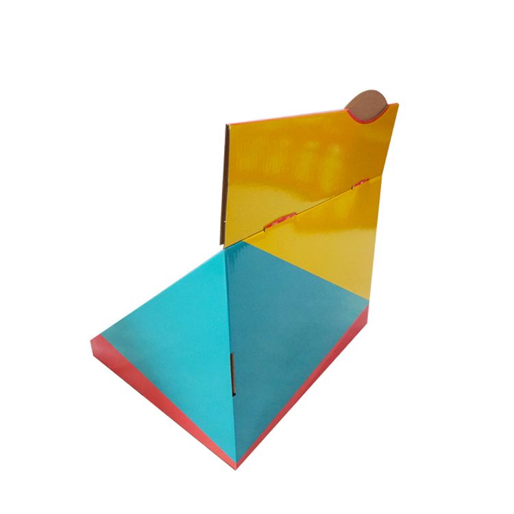 CMYK Printing Colorful Cardboard Comic Book Counter Display Bookstore Table Top Display Stand