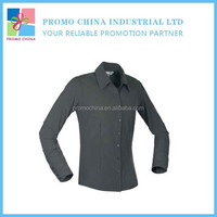 Custom OEM 100% Cotton Long Sleeve T-Shirt With Collar