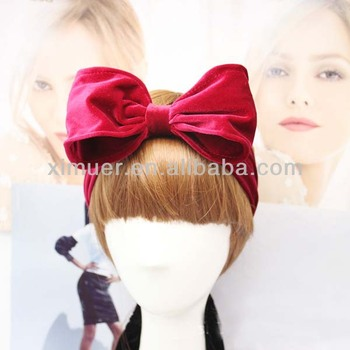 Trendy Large Colorful Bow Headbands For Teen Girls - Buy ... a3190d60ddf
