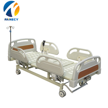AC-EB019 Factory 3 Functional electric Hospital Medical manual electric adjustable Hospital Bed parts