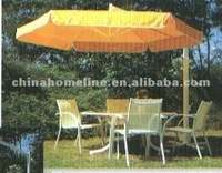 fashion umbrella with table and chairs 11364