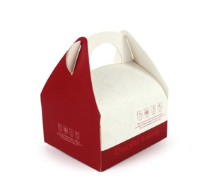 Custom-made Cake Food Packaging Box White Cardboard Gift Box Baking Exquisite Paper Box Dessert Pastry