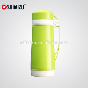18l glass inner thermos vacuum flask with double cups - Glass Thermos