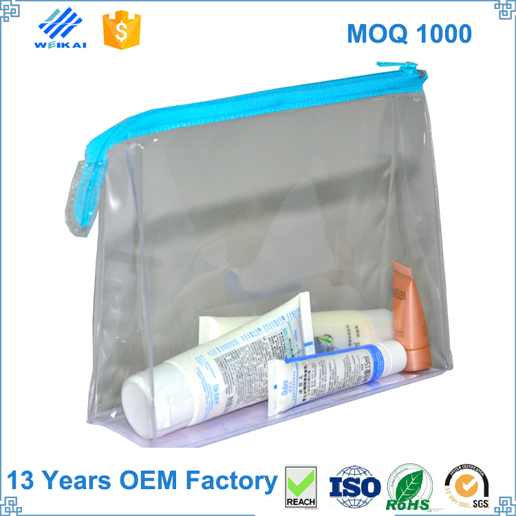 fashion new product PVC Clear Bag, cosmetic packing bag, gift bag with zipper