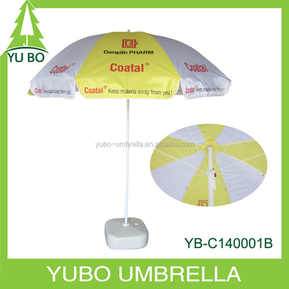 "40""*8k standard size custom beach umbrella,advertsing beach umbrella"