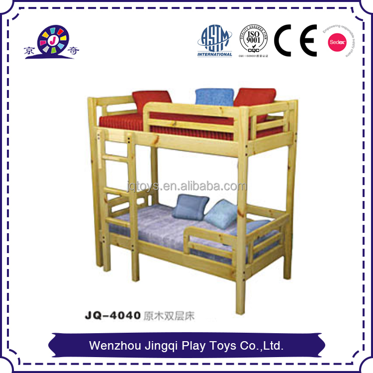 2017 Plastic log double deck bed for sale