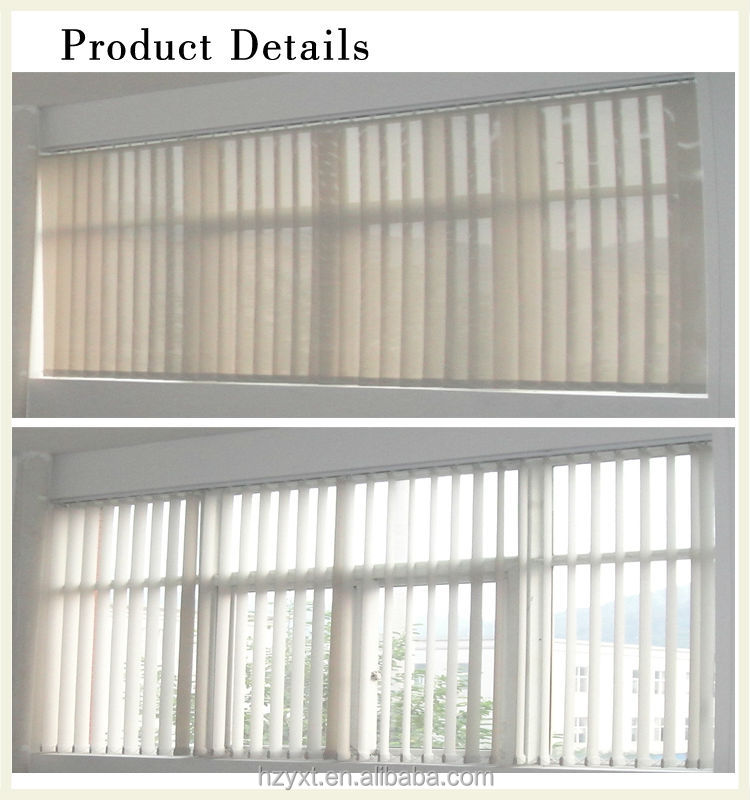 Office Shutters Carrier Parts Plastic Clips For Vertical