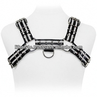 leather chest harness safety belt full body harness
