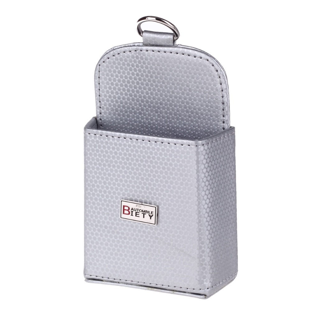 High Quality Grey Mini Car Tuyere Grocery Bags Car Bag Phone Pocket Car Pouch Glove Carbon Fiber Grain Upscale Grocery Bag P30