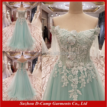 El055 Korean Style Fairy Ball Gown Special Occasions Prom Dresses ...