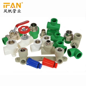 Ifan Factory All types Green PPR Pipe Fittings