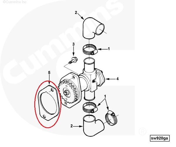 China Gasket Hydraulic Pump 3008400 Wholesale