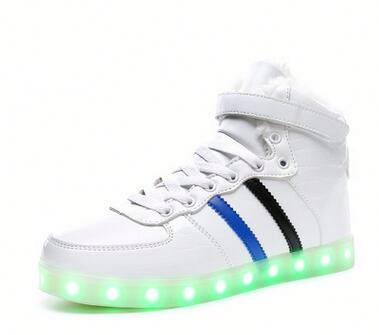 led light shoes led light high heel shoes