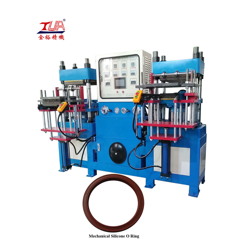automatic rubber silicone o-ring vulcanizing/making machine