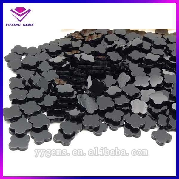 Wholesale agate slices, clover shape agate stone slice,natural polished agate slices